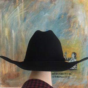 666c0e6a6d1 Serratelli Hat Company Accessories - Black western cowboy hat